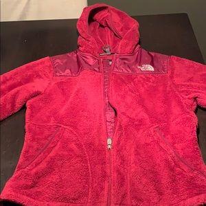 Women's Northface zip up sweatshirt